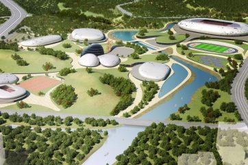 Concorso internazionale di progettazione  Olympic Sports Centre
